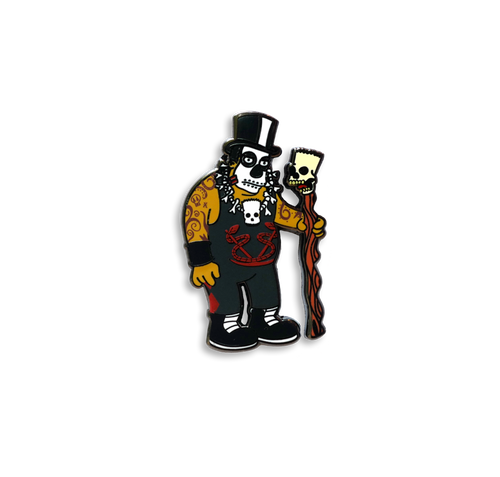 Doctor Shango x Springfield Mania Hard Enamel Pin Badge