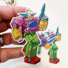 Krustybot Springformers Pin Badge