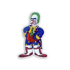 Koink the Clown x Springfield Mania Hard Enamel Pin Badge