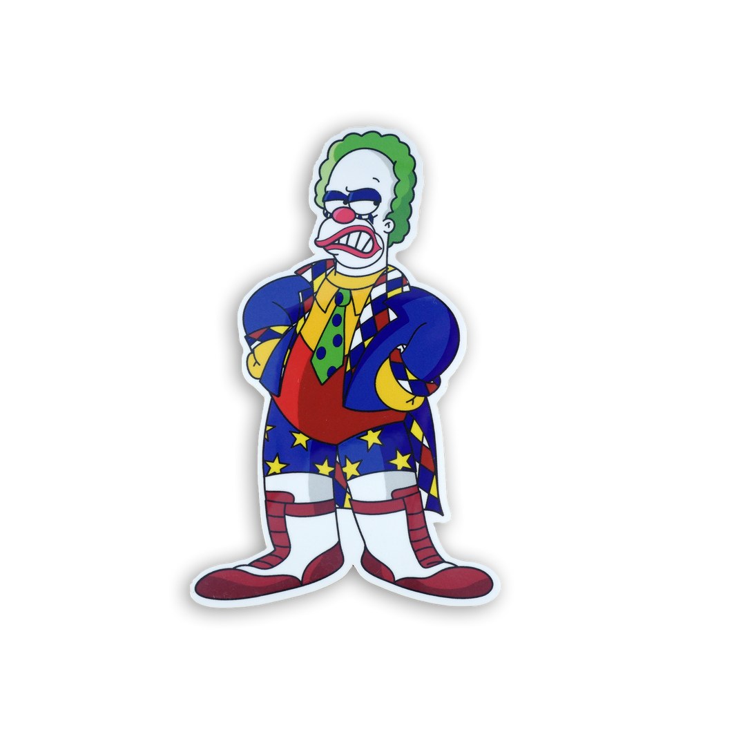 Koink the Clown x Springfield Mania Sticker