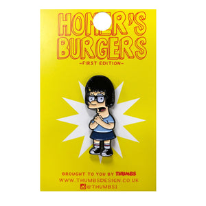 Lina x Homerr's Burgers Pin Badge