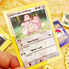 Lunch Lady Lickitung Trading Card