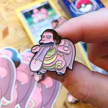 Lunch Lady Likitung Pin, Sticker and Trading Card