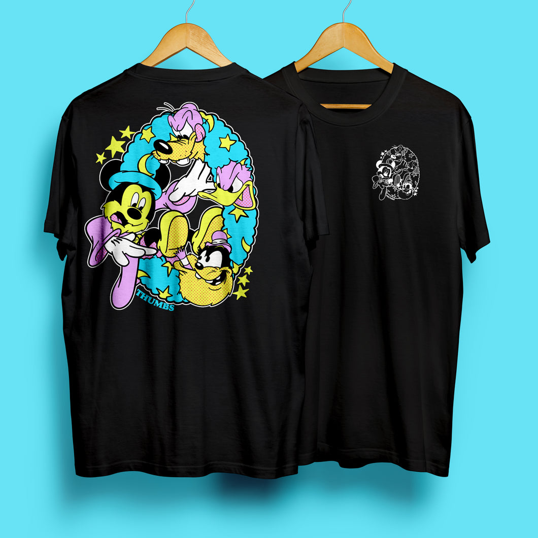Magic Circle Black T-Shirt