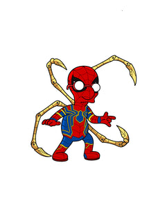 Iron Spider Van Springfield Endgame Sticker