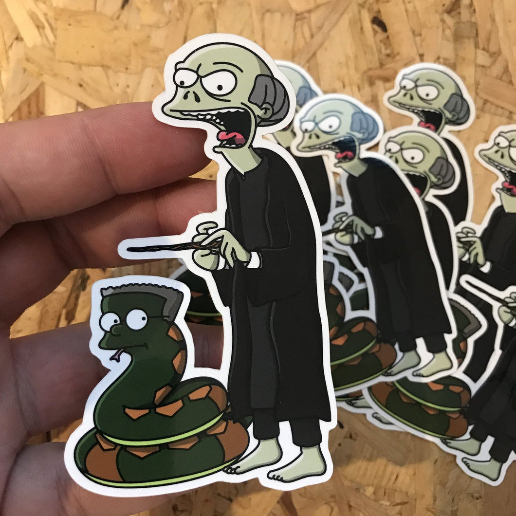 Voldeburns Hogfield Sticker