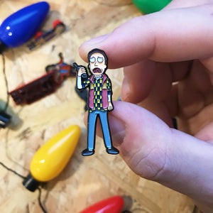 Jerry x Schwifty Things Pin Badge