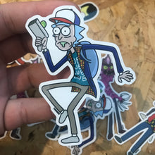 Rick x Schwifty Things Vinyl Sticker
