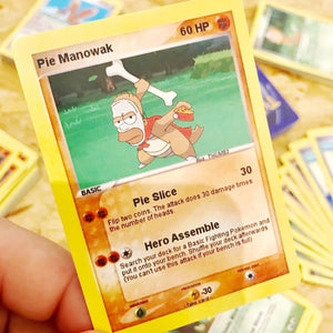 Pie Manowak Trading Card