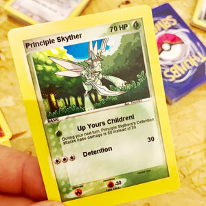 Principle Skyther Trading Card