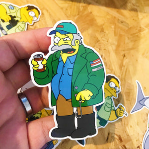 Quint x Jawsfield Pin Badge