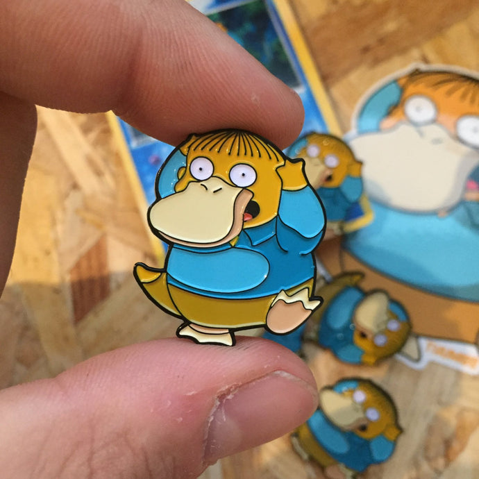 Psyralph Pin, Sticker and Trading Card