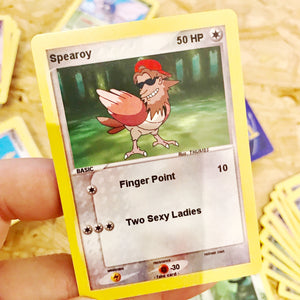 Spearoy Trading Card
