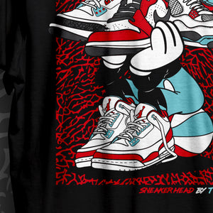 Sneakerhead Back Print T-Shirt
