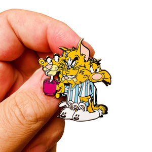 Self Loathing Cats Hard Enamel Ltd Edition Pin