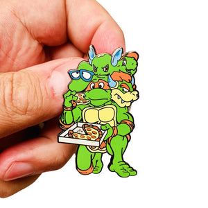 Self Loathing Turtles Hard Enamel Ltd Edition Pin