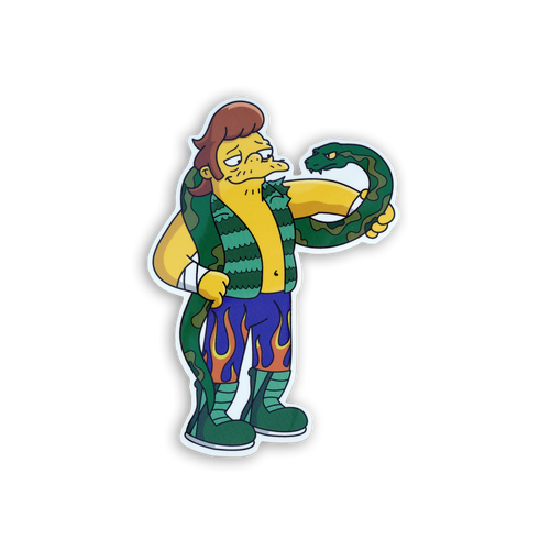 Jake the Snakke x Springfield Mania Sticker