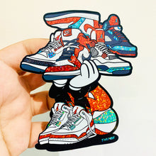 Sneakerhead Glitter Sticker