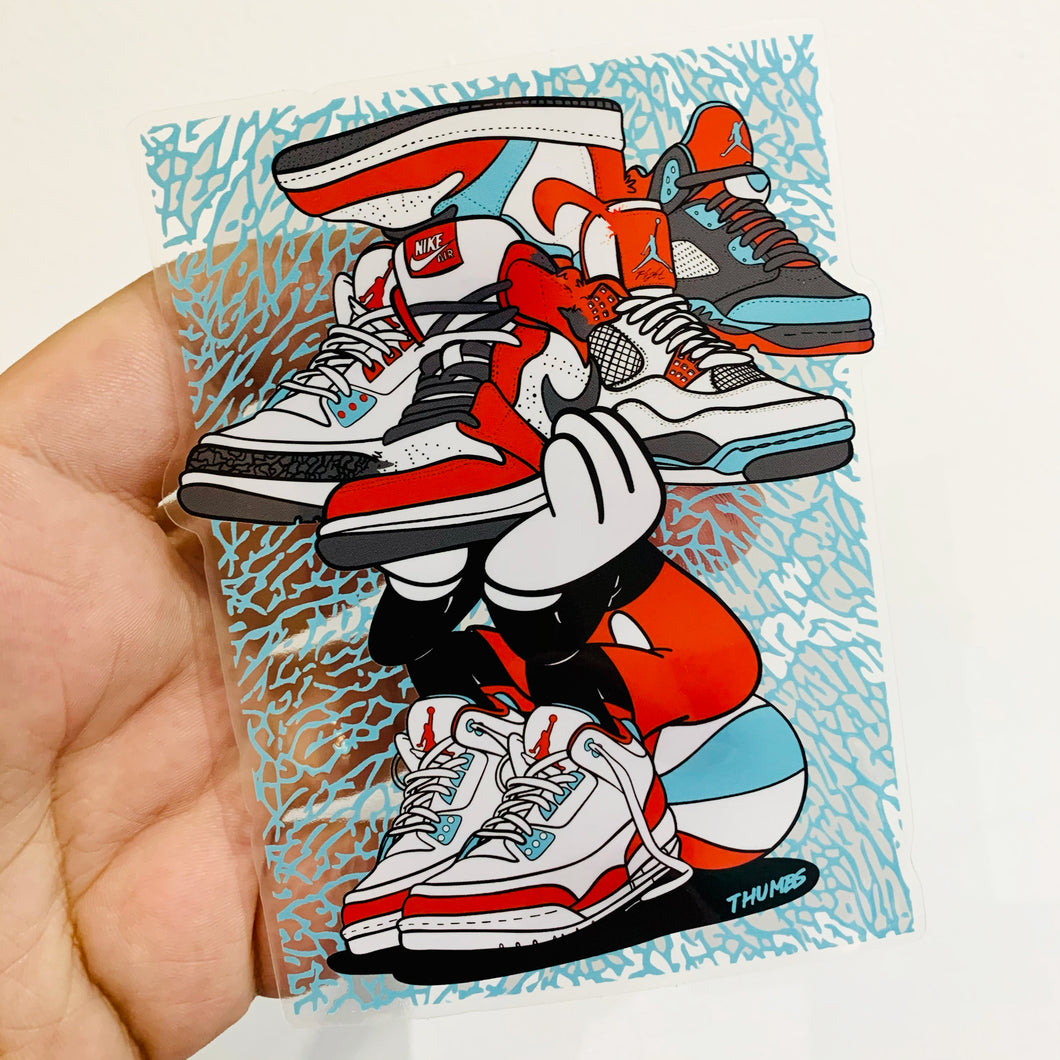 Sneakerhead Sticker