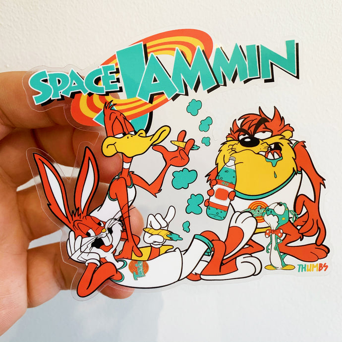 Space Jammin Sticker