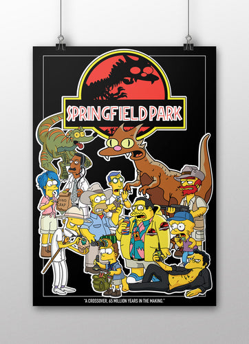 Springfield Park Poster