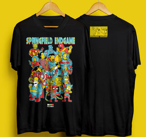 Springfield Endgame T-Shirt Front Print