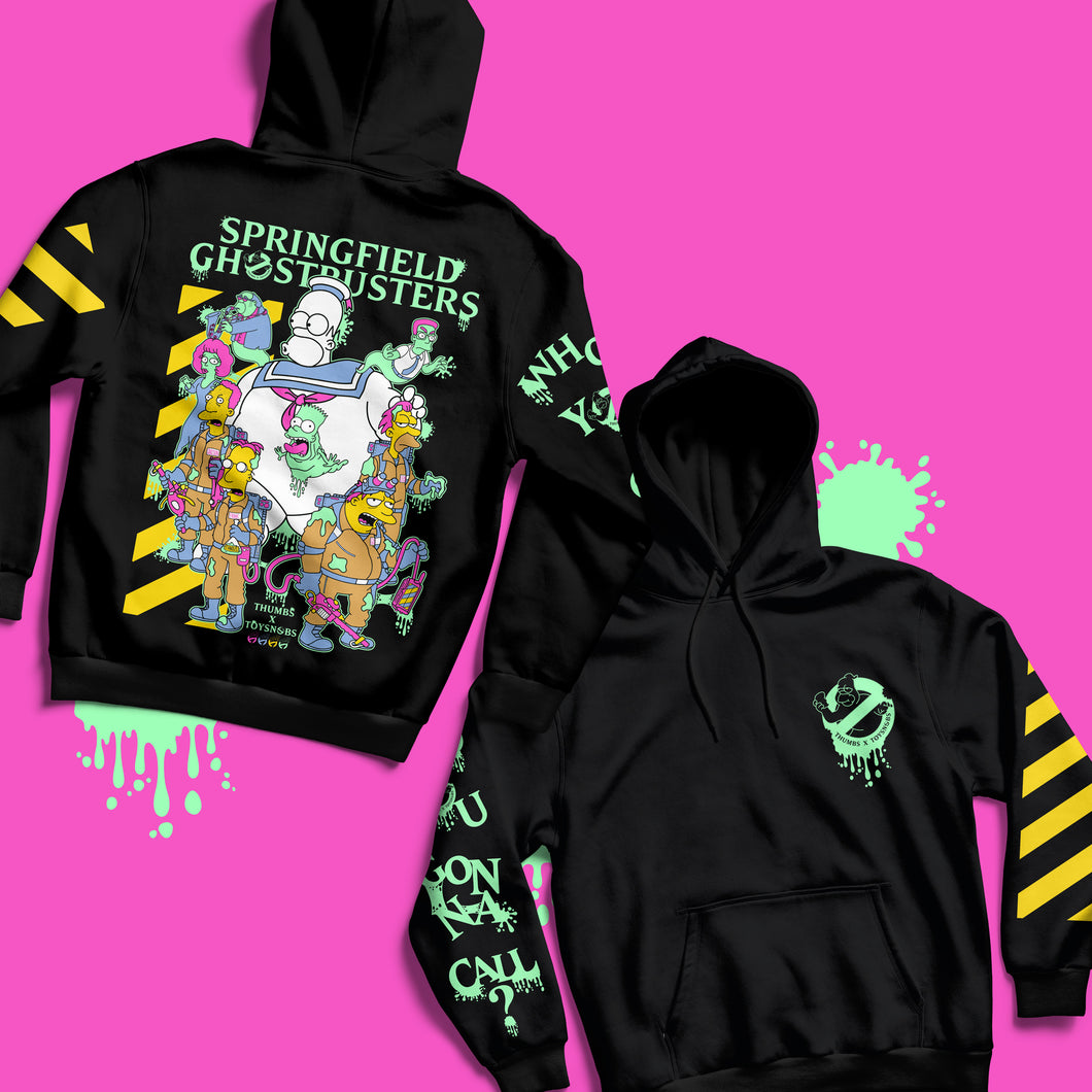 Springfield Ghostbusters Glow in the Dark Pullover Hoody