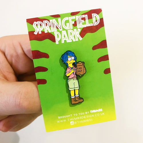 Margie Settler Springfield Park Pin Badge