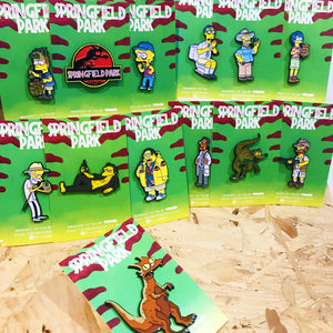 Springfield Park Pin Badge Set