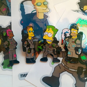 Frink Slimebusters Pin Badge