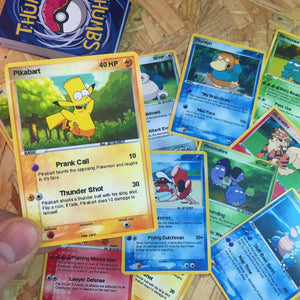 Springfield Pocket Monster Trading Card Bundles