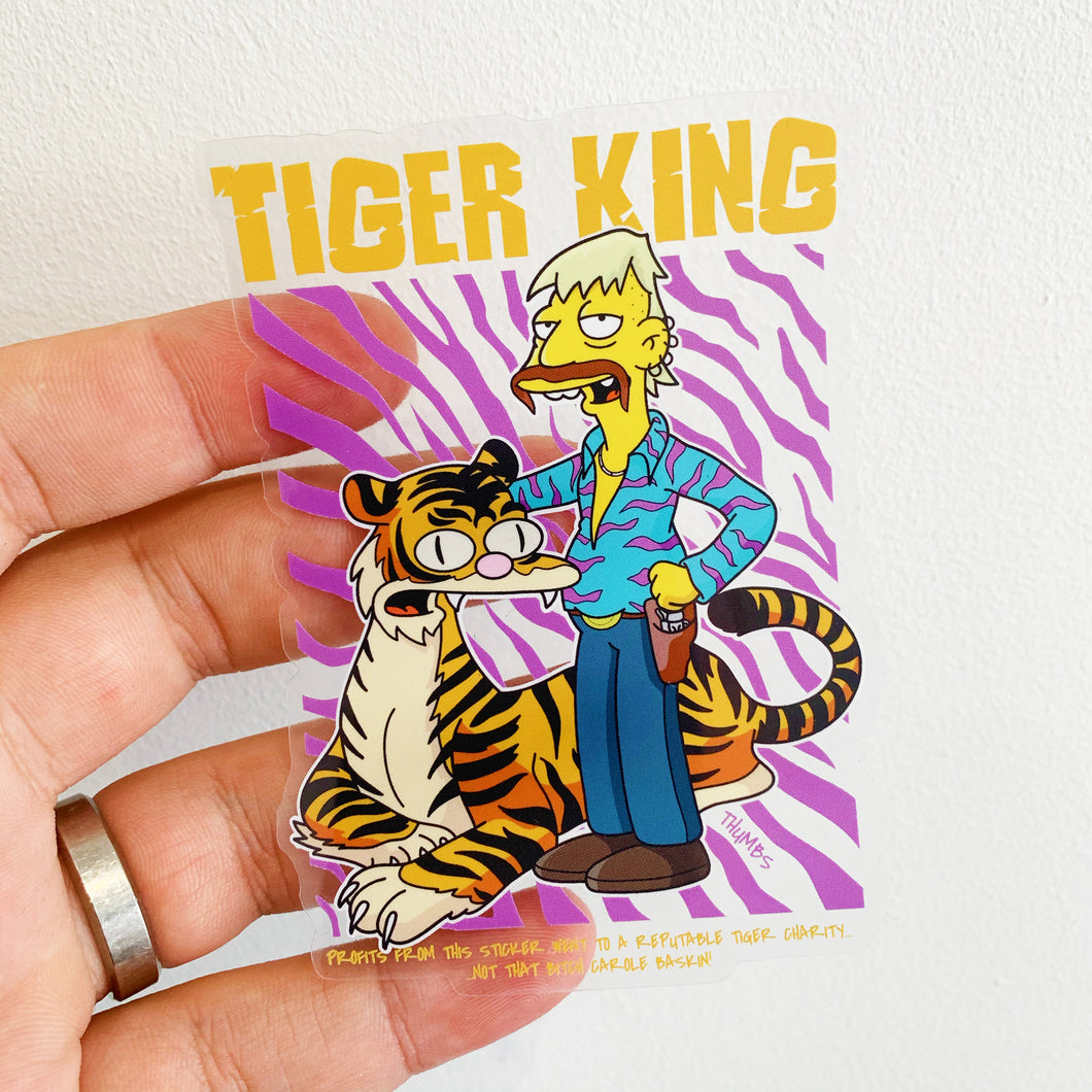 Tiger King Sticker