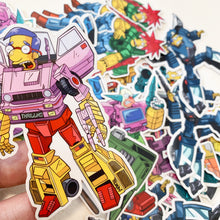Burnsbot Springformers Sticker