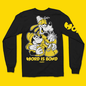 Word Is Bond Long Sleeve T-Shirt