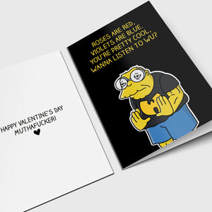 Wu Tang Hans Valentine's Day Card