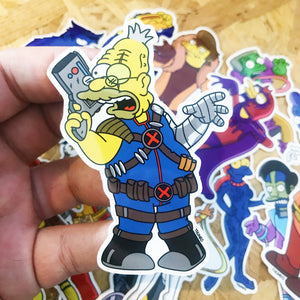 Cabel Springfield Mutants Sticker