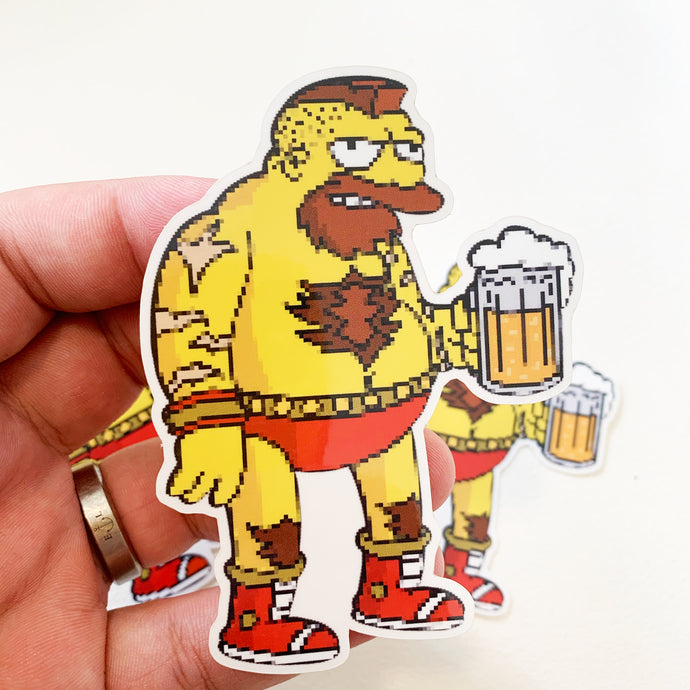 Barngief Springfield Fighters Sticker