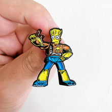 Bartbot Springformers Pin Badge