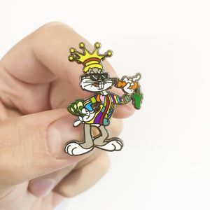 Bugsy Smalls Hard Enamel Pin