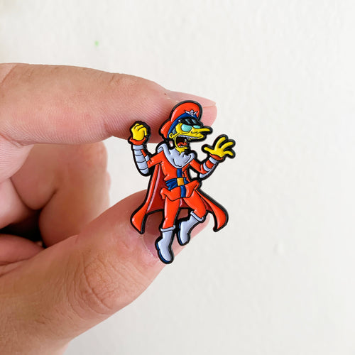 M. Burnson Springfield Fighters Pin Badge