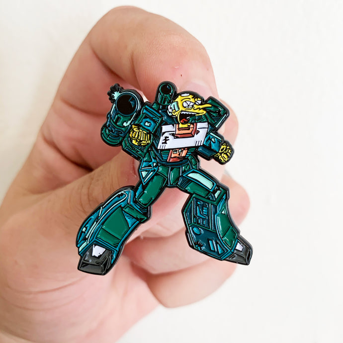 Burnsbot Springformers Pin Badge