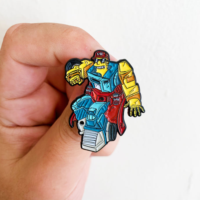 Duffbot Springformers Pin Badge