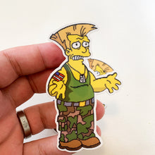 Ol' Guile Springfield Fighters Sticker