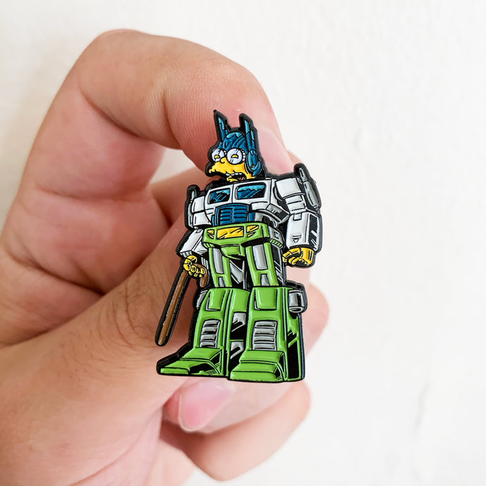 Molebot Springformers Pin Badge