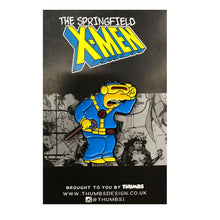 Molelops Springfield Mutants Pin