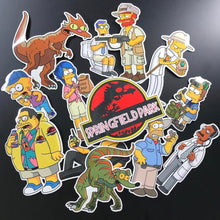 Springfield Park Stickers and Set