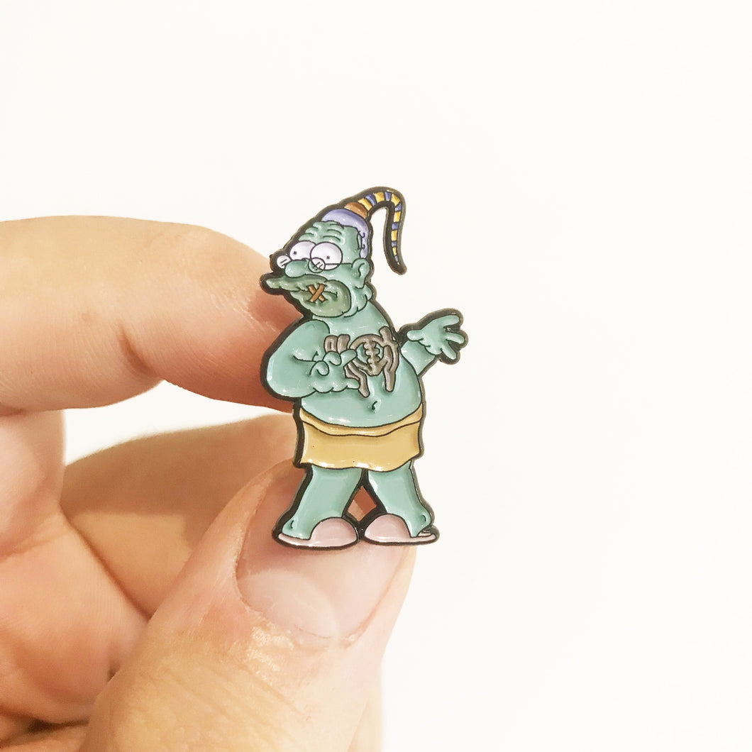 Abe's Oddysee Pin Badge
