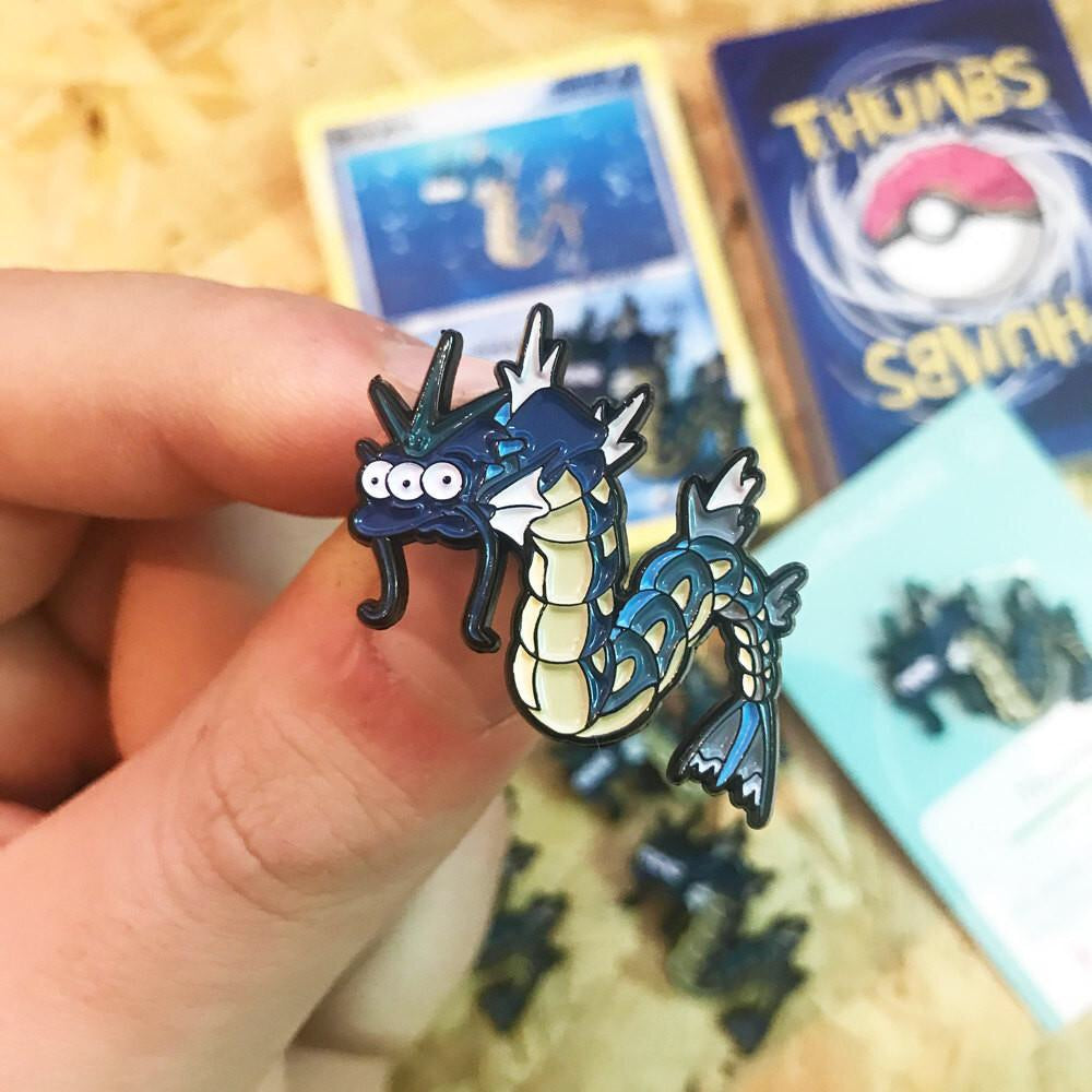 Blinkydos Pin, Sticker and Trading Card