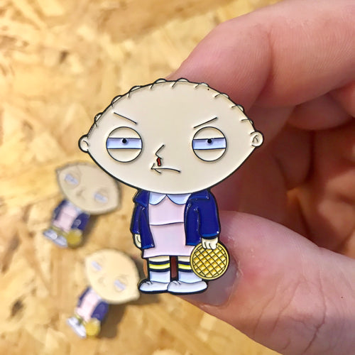 Stewie x Eleven Pin Badge