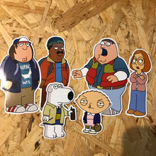 Family Guy x Stranger Things Sticker Set